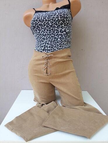 Pantalone dubok struk kao nove bez ikakvih ostecenja Veličina S