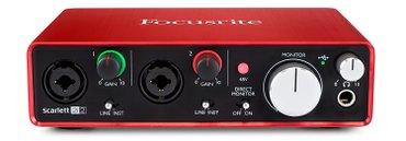 """Bakı şəhərində Səs kartı """"focusrite scarlet 2i2"""".Soundkart."""