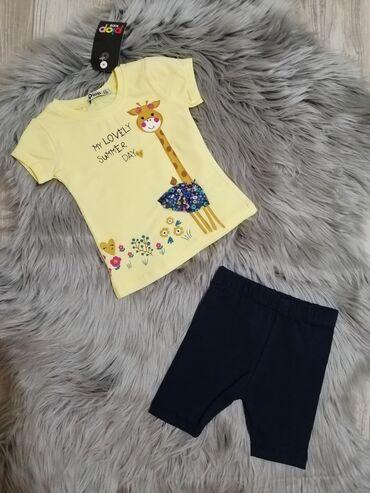 Ostala dečija odeća | Sabac: Komplet za devojcice 9, 12, 18, 24 meseca