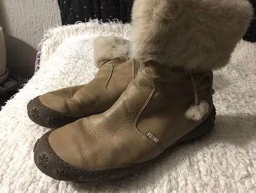 POLINO cista koza cipele sa znakovima koriscenja. Broj 40.  - Pancevo