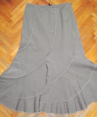 Suknja duzina duga - Srbija: Neobicna duga suknja Prelepa duga suknja neobicnog kroja.Lepo prati li