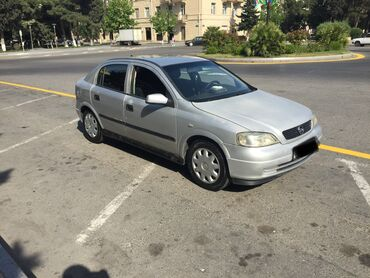 kredit tekerler - Azərbaycan: Opel Astra 1.6 l. 1999 | 317000 km