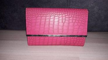 Pismo torbica, sa lancem, pink boje. - Nis