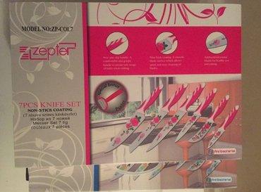 гейзерная кофеварка zepter в Кыргызстан: Новые наборы Ножей zepter!!! доставка по городу