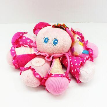 осьминог перевертыш бишкек in Кыргызстан   ИГРУШКИ: Осьминог мягкая игрушка.Приятный подарок малышу, а также можно вешать