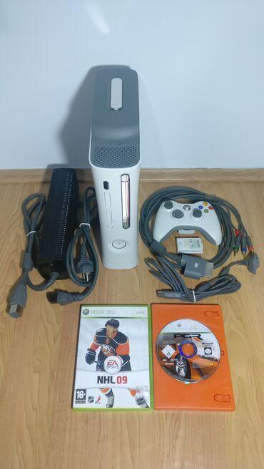 Xbox 360 & Xbox | Srbija: Xbox 360 + 5 Igrica:Konzola kao i sve što ide uz konzolu je testirano