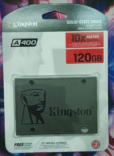 Жесткий диск SSD 120 Gb.  Новый.  в Бишкек