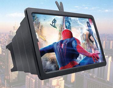 Другие аксессуары для мобильных телефонов - Бишкек: Лупа-увеличительное стекло, 3D HD видео, для экрана мобильного