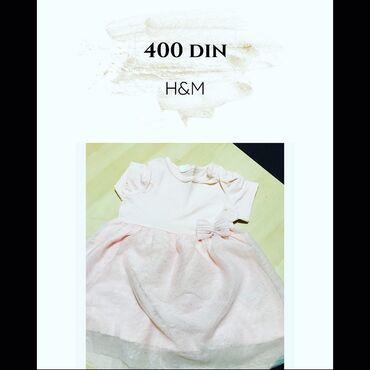 74 - Srbija: H&M velicina 74 Cena 400 din