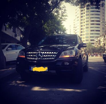 mersedes ml - Azərbaycan: Mercedes-Benz mersedes ML 350 arxa yan suseleri temiz ciziqsiz