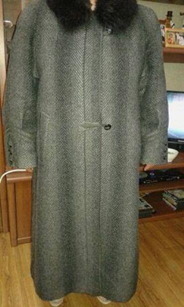 Продаю пальто, в отличном состоянии (Лама). Одевали 1-2 раза. Размер