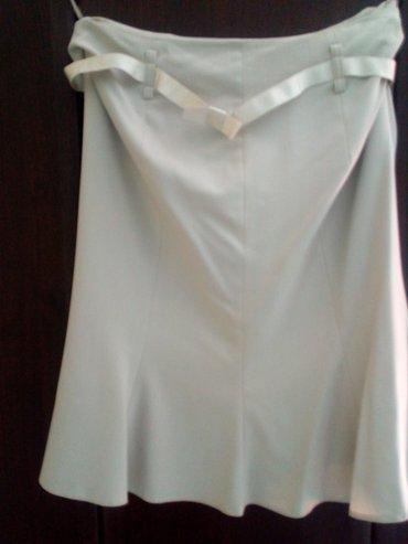 Veoma lepa suknja u bež boji, marke afrodita, nova, nanošena, vel 42. - Valjevo