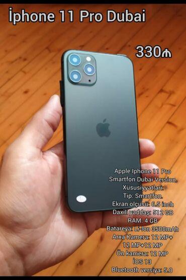 Apple Iphone - Azərbaycan: Yeni IPhone 11 Pro 512 GB Qara
