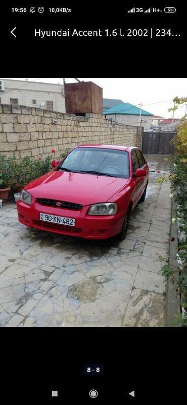 Hyundai - Azərbaycan: Hyundai Accent 2002