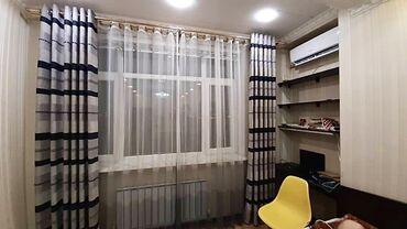 Декор для дома - Кыргызстан: Шторы. Цвет серый. Длина 2.70, ширина 2,00. Состояние - идеал. Ткань -