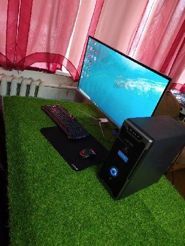 современный компьютер в Кыргызстан: Игровой компьютер i5Большой игровой монитор 42 дюйма.Материнская