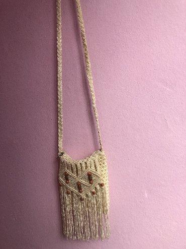 Pletena jaknica - Srbija: Torbica pletena
