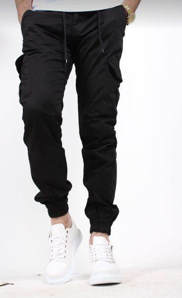 женские карго брюки в Азербайджан: Trendyoldan alınıb ölçüsü düzgün gelmiyib deye satılır. GEYİNİLMİYİB