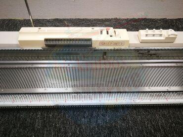Paltar tikişi - Azərbaycan: Silver Reed 260 modeli toxuma maşını.2 fanturalıdır. Kartaları ile ve