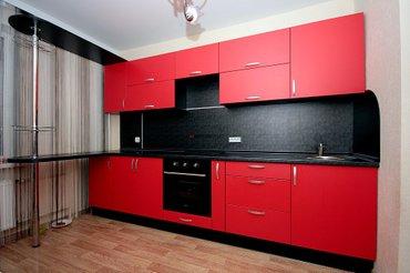 На заказ изготовим кухонный гарнитур по вашим размерам. Приемлемые в Бишкек