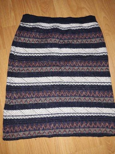 Suknja,trikotaza,nepostavljena. duz.53,struk bez rastezanja - Smederevo