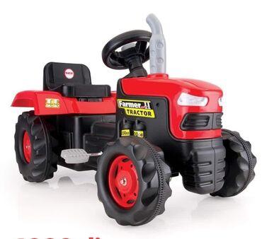 Volan - Srbija: Traktor na pedaleTraktor koji se pokreće pomoću pedala, namenjen