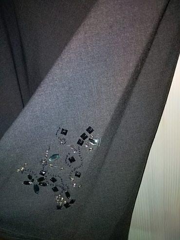 Suknja-svilena-broj - Srbija: Siva suknja broj 38, kao nova