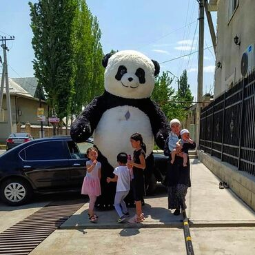 Панда & Мишка (3 м)  Үй бүлөлүк майрамдарга чакырсаныздар болот!