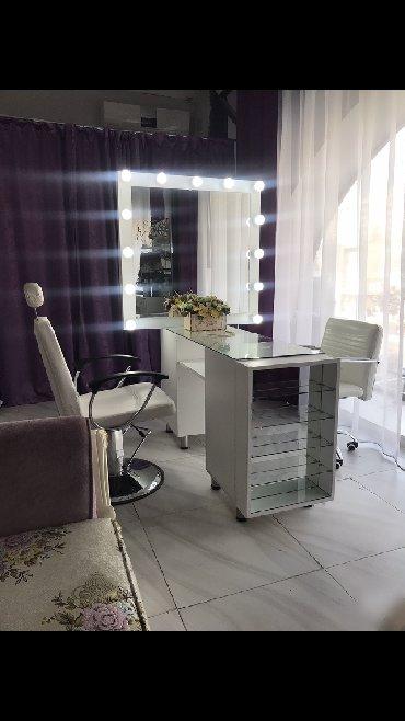 manikur stolu - Azərbaycan: Manikur stolu, 2 mertebeli en son deble yigilib, tek manikur stolu 250