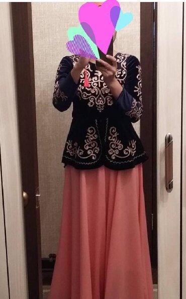 вечерние платья для полных дам в Кыргызстан: Продаю национальное платье,одевала 1 раз,размер 44-46