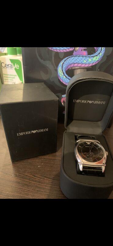 emporio armani odezhda muzhskaja в Кыргызстан: Черные Мужские Наручные часы Armani
