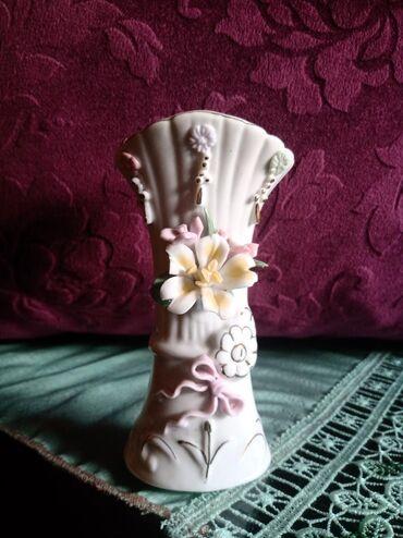 Figurine | Srbija: Vazica nova porcelanska. vis. 13cm