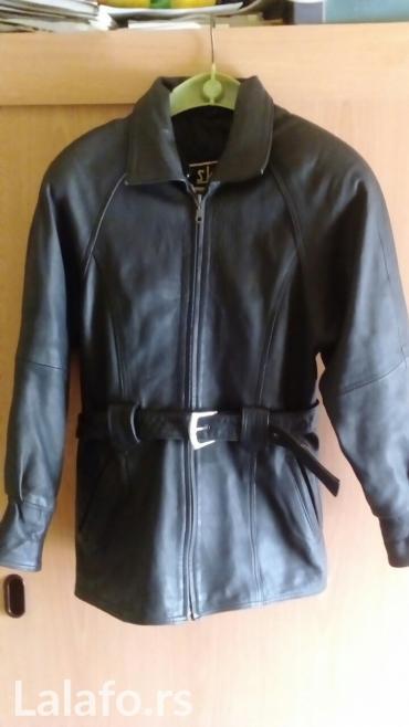 Kožna jakna malo nošena,očuvana,  veličina l/xl - Vrnjacka Banja