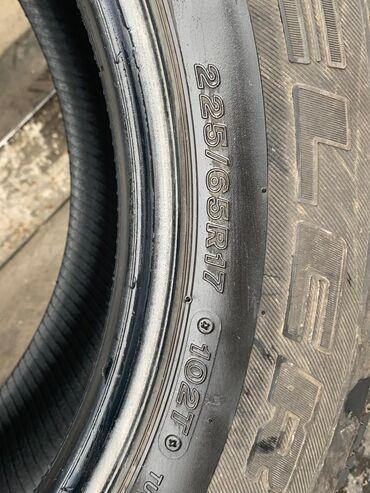 летние шины бу в Кыргызстан: Продаю бу шины 225/65 R17