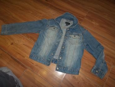 Dečije jakne i kaputi | Kikinda: H&M teksas jaknica vel.128 za uzrast 7-8 godinakupljena u Becu