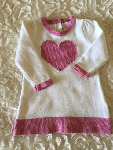 Knitted cotton dress 3-6 months.  σε Νέα Σμύρνη