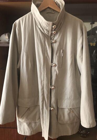 Куртка теплая на стеганной подкладке р л/хл состояние новой