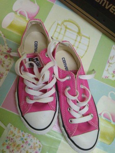 Παιδικά παπούτσια για κορίτσι χρώμα φούξια  converse all star νούμερο  σε Σέρρες - εικόνες 2