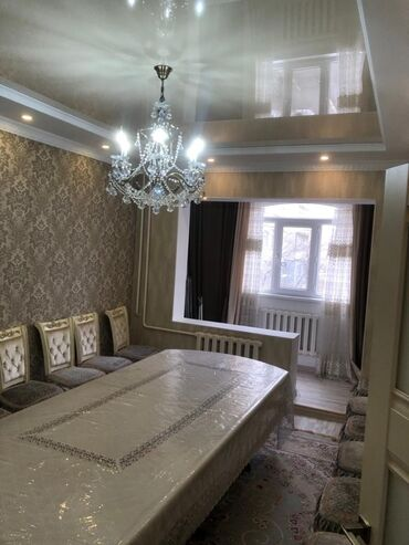 Продажа квартир - 4 комнаты - Бишкек: Продается квартира: 106 серия, Тунгуч, 4 комнаты, 101 кв. м