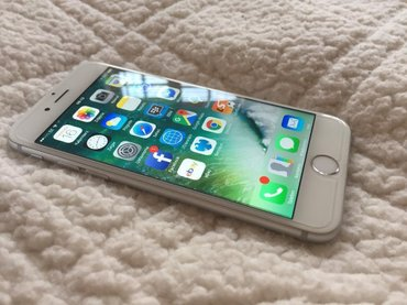 Iphone 6s silver 64 gb в Бишкек