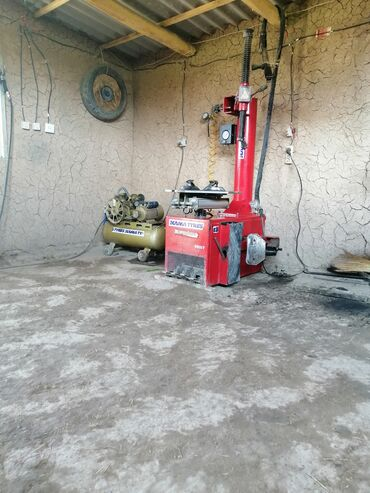 Услуги - Ала-Бука: Шиномонтаж Вулканизация резины