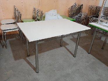 стол с двумя стульями в Кыргызстан: Стол,стул из нержавейки. Отличное качество по самым низким ценам