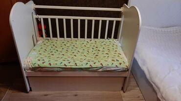 Продаю Детскую кроватку,Почти Новая,С Полочкой,Качество Хорошее