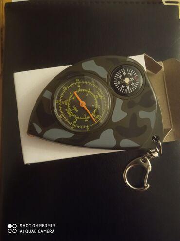 brelok - Azərbaycan: Kompas brelok.Hərbi dizayn.Nadir maldır