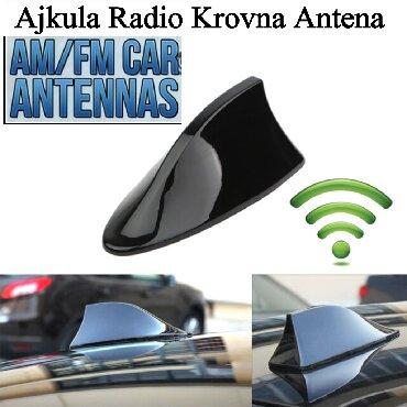 Auto oprema - Srbija: Ajkula Auto Krovna Radio AntenaVise o ovoj anteni mozete pogledati na