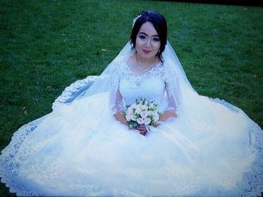Платье с фатой продаю одевала один раз. не укарачивала длина нормальна