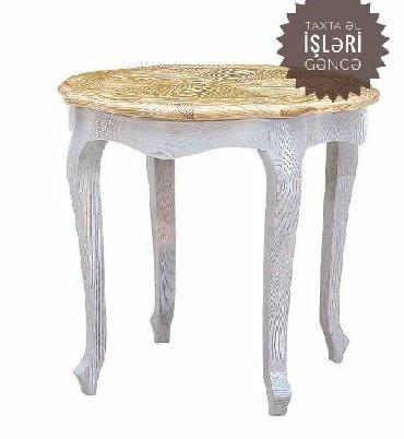 столешница для стола на заказ в Азербайджан: Stol jurnalni ( журнальный стол)