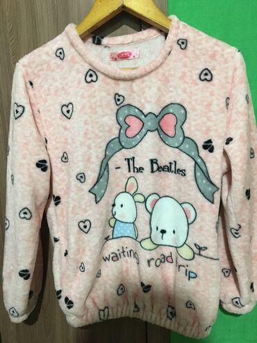 Трикотажную двойку - Кыргызстан: Продаю зимнюю двойку пижаму состояние отличное, очень мягкоеразмер