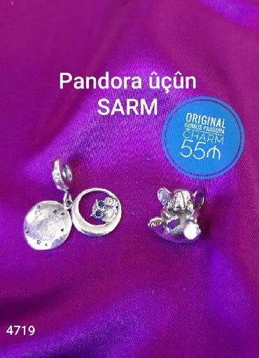 Şarmlar - Azərbaycan: Original Gumus Pandora Sharm - 55₼