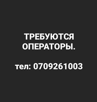 z оператор бишкек в Кыргызстан: Требуется оператор консультантВ отдел оптовых продаж Требования